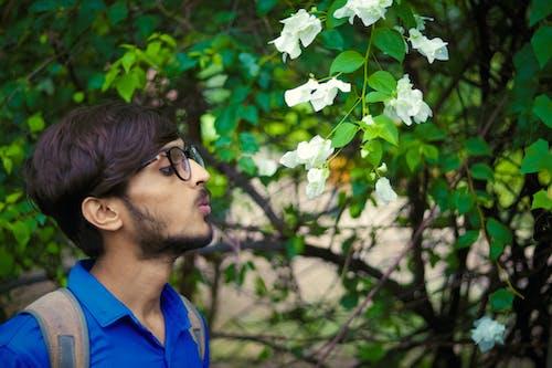 คลังภาพถ่ายฟรี ของ ภาพสต็อก, สีน้ำเงิน, เด็กอินเดีย, เสื้อโปโล