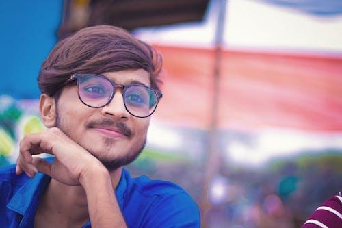 คลังภาพถ่ายฟรี ของ ภาพสต็อก, สีน้ำเงิน, เด็กชาย, เด็กอินเดีย