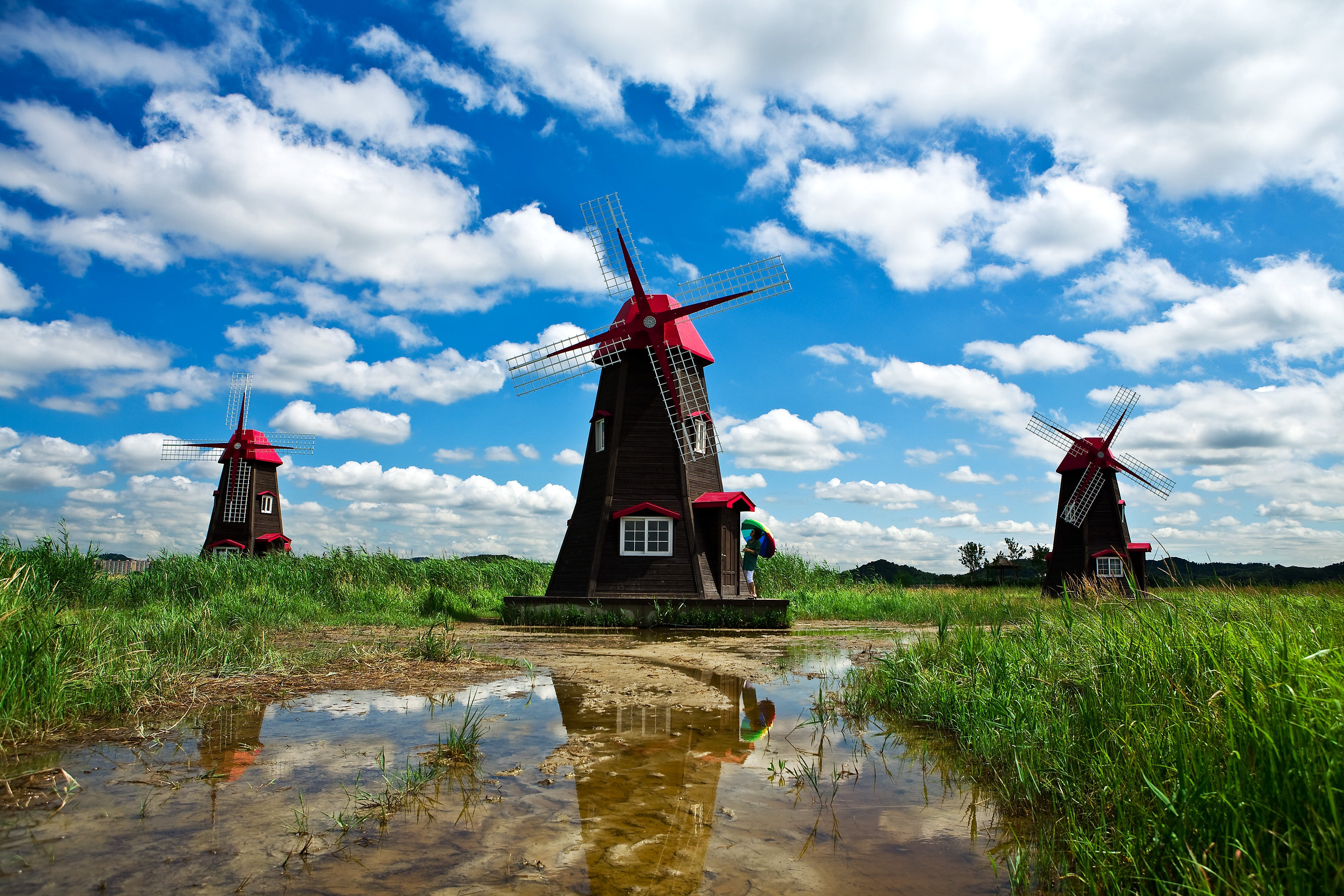agriculture, architecture, blue sky