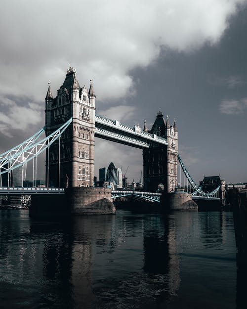 Foto Da Tower Bridge Em Londres