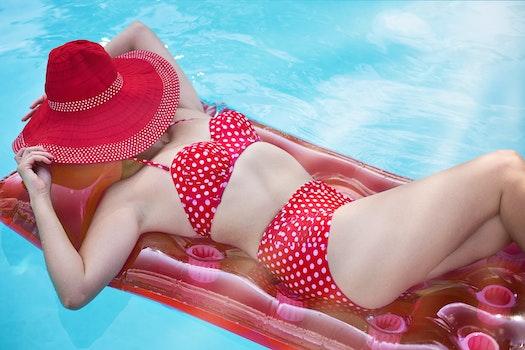Free stock photo of fashion, bikini, woman, relaxation