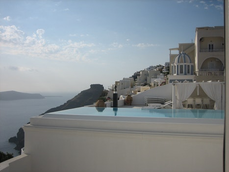 Free stock photo of sea, sky, romantic, hotel