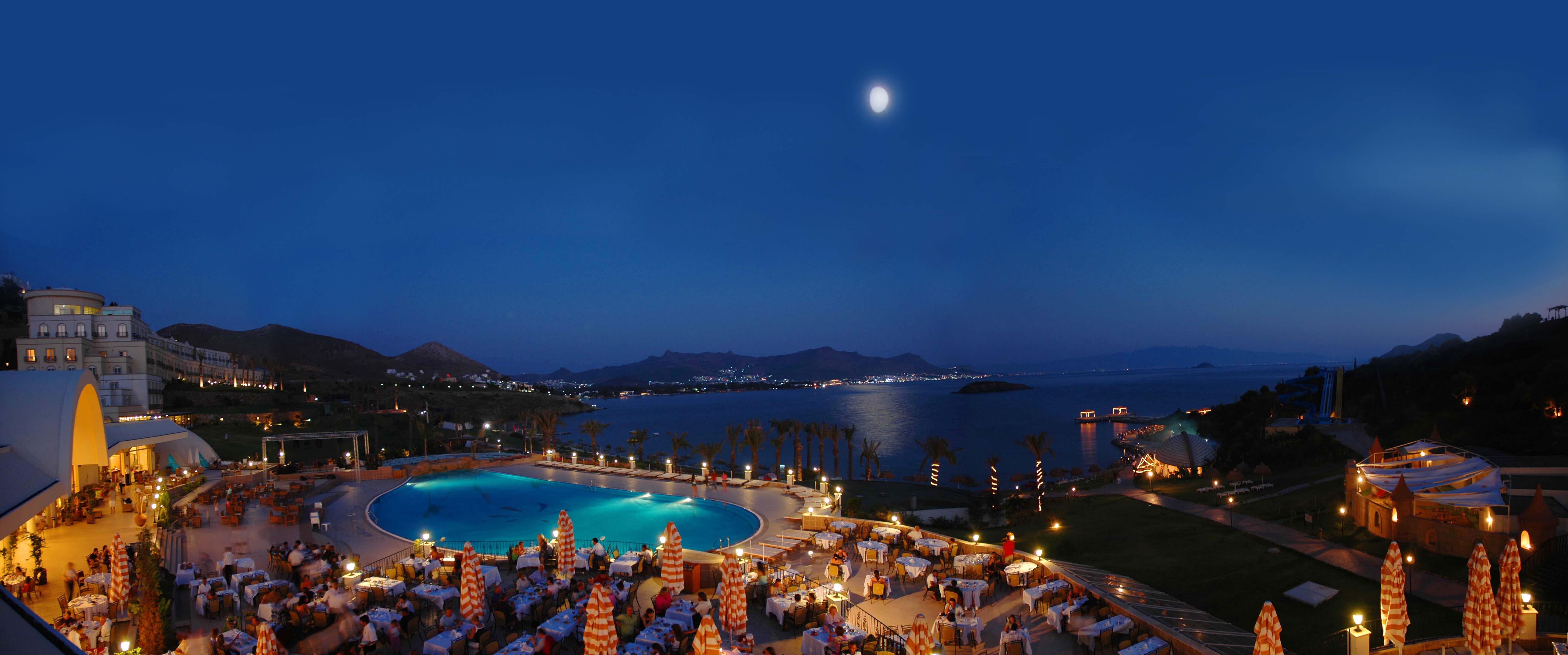 Free stock photo of night, ocean, holidays, hotel
