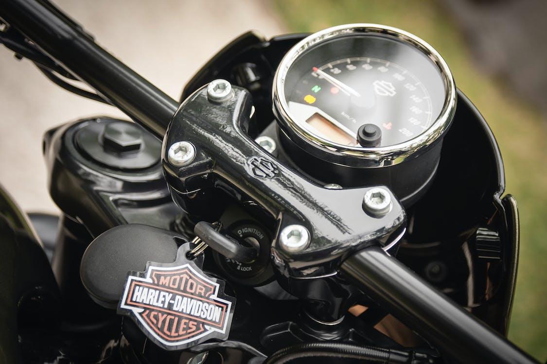 harley davidson, motorcykel