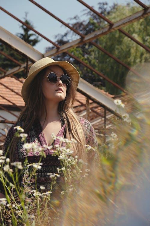 女人, 女孩, 帽子