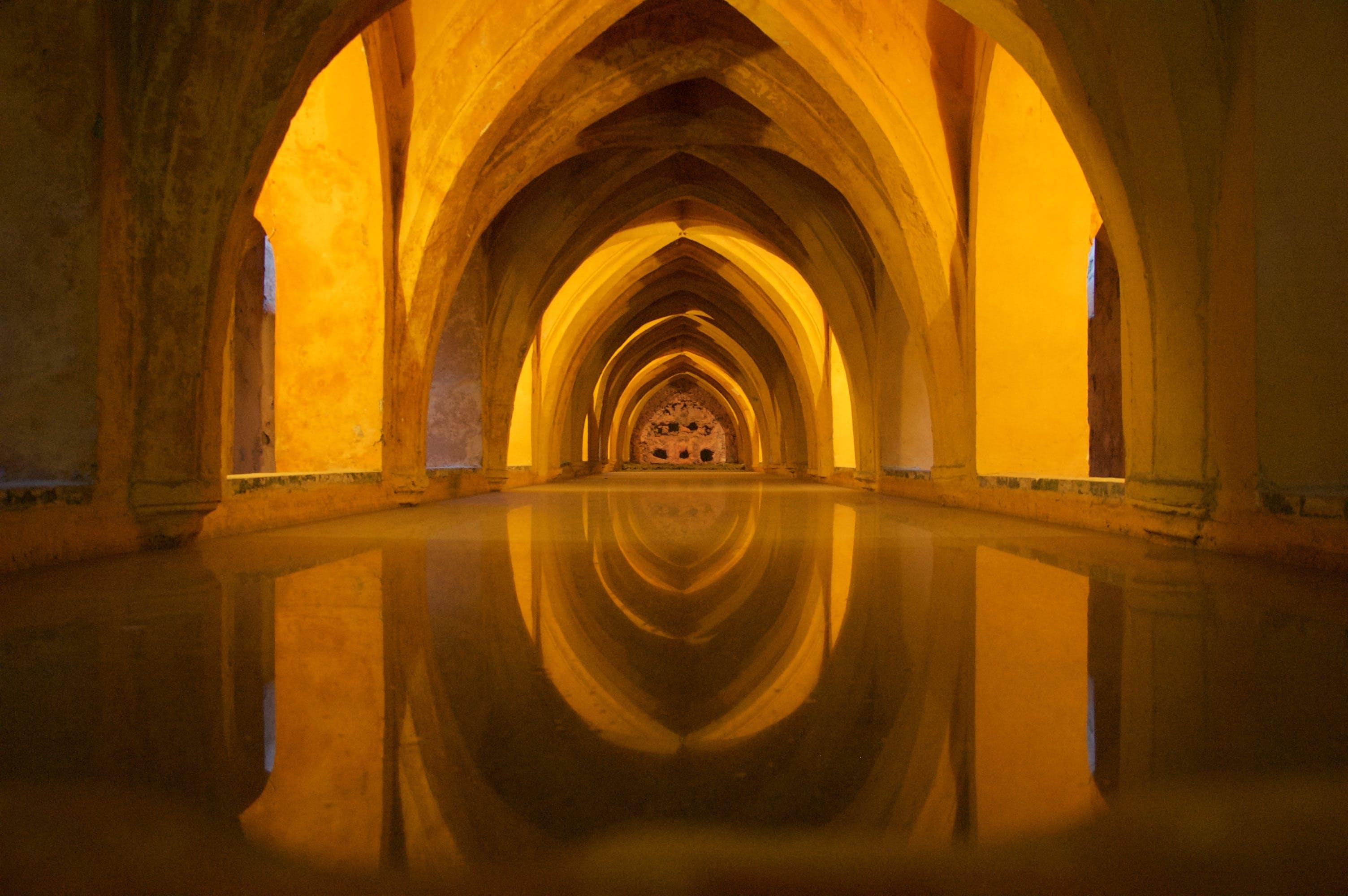 Gratis lagerfoto af andalusien, arkitektur, bue, buer