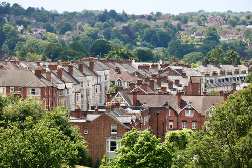Free stock photo of houses, terraced houses