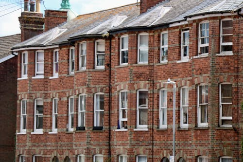 Free stock photo of british street, house, terraced house