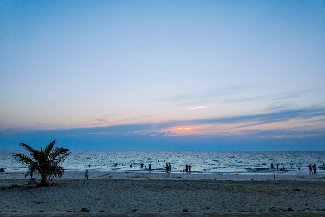 Kostenloses Stock Foto zu horizont, meer, meeresküste