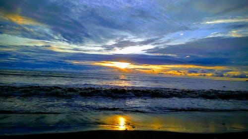 Free stock photo of artistic background, beach sunset, Beautiful sunset