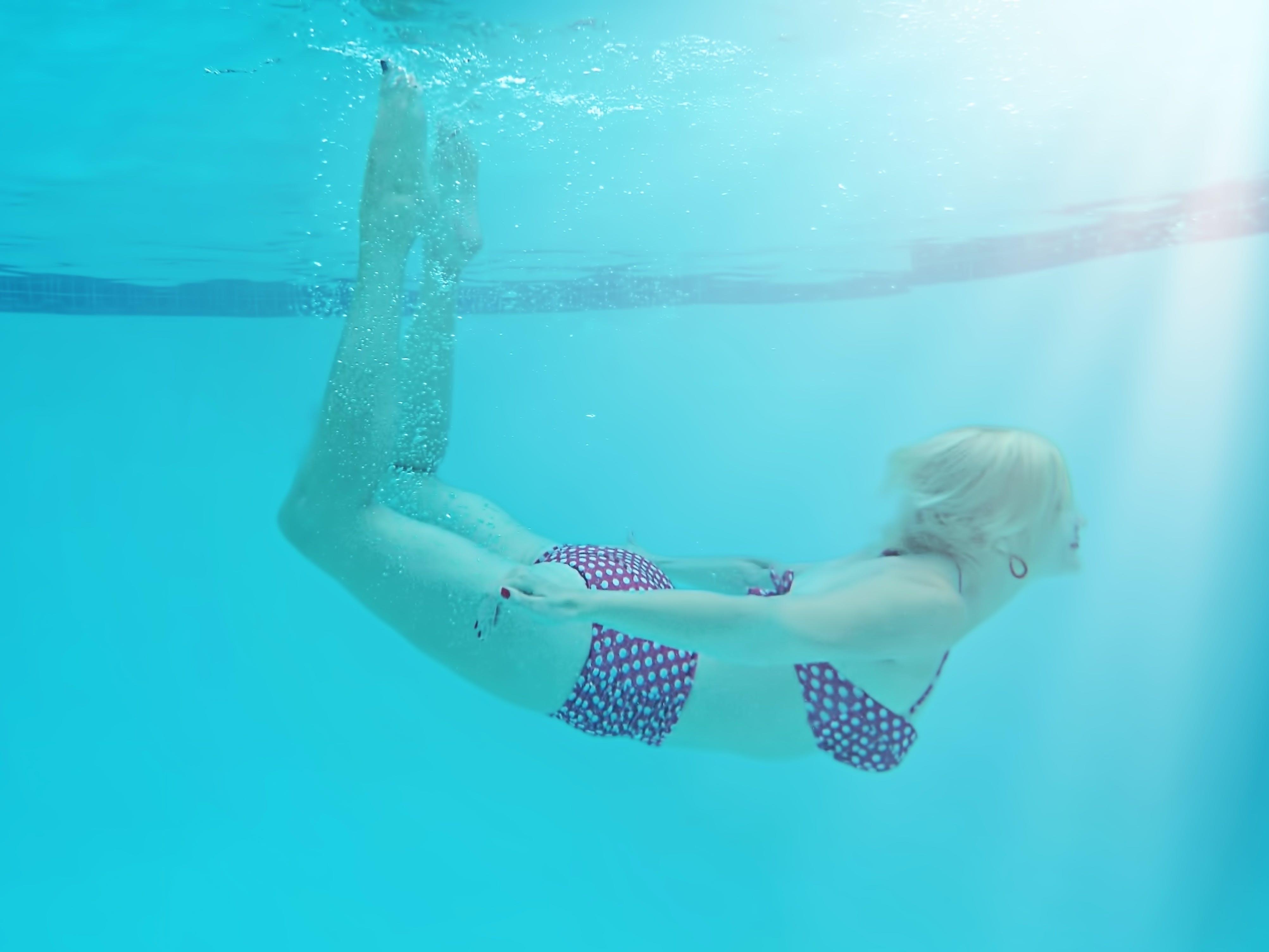 diving, fitness, fun