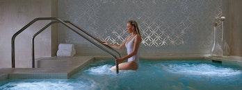 bikini, woman, relaxation