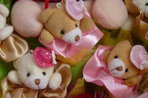 Kostnadsfri bild av 3 söt mini nallebjörn