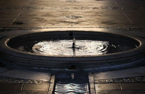 ダーク, プール, 円形, 反射の無料の写真素材
