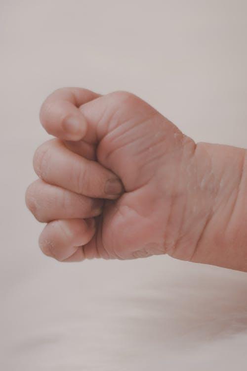 baby, finger, fist