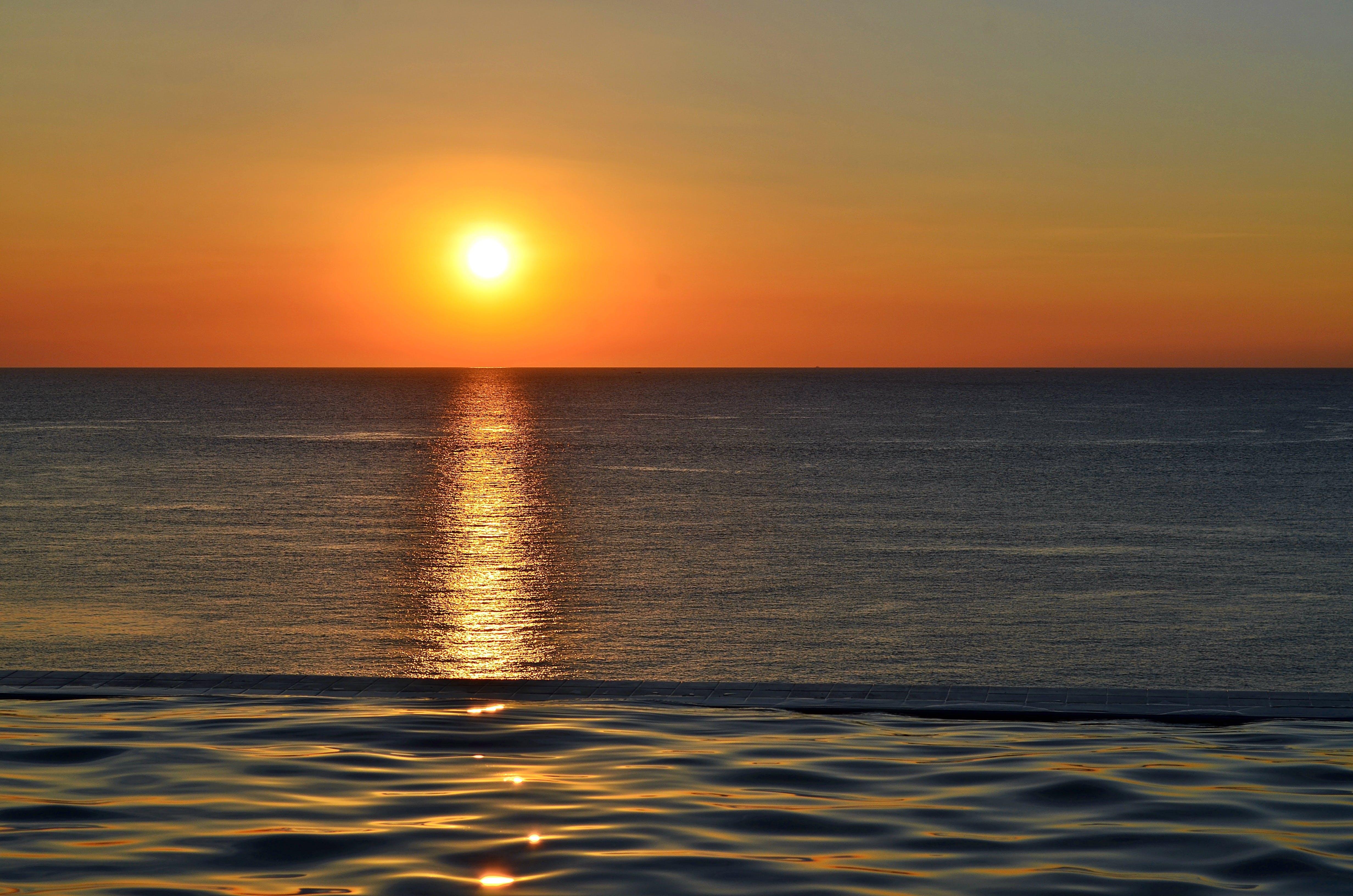 Golden Hour on Beach