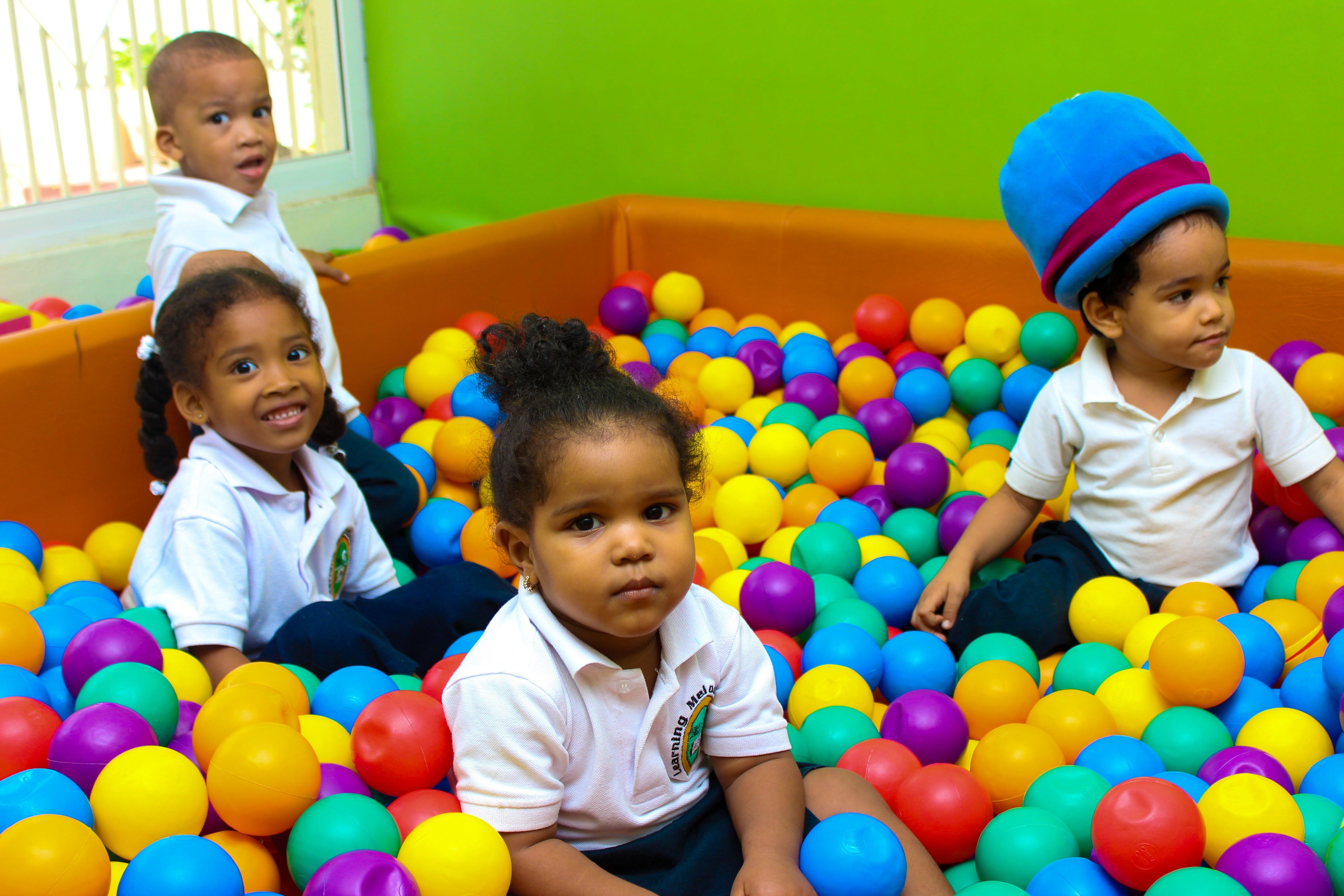 children, colors, enjoying
