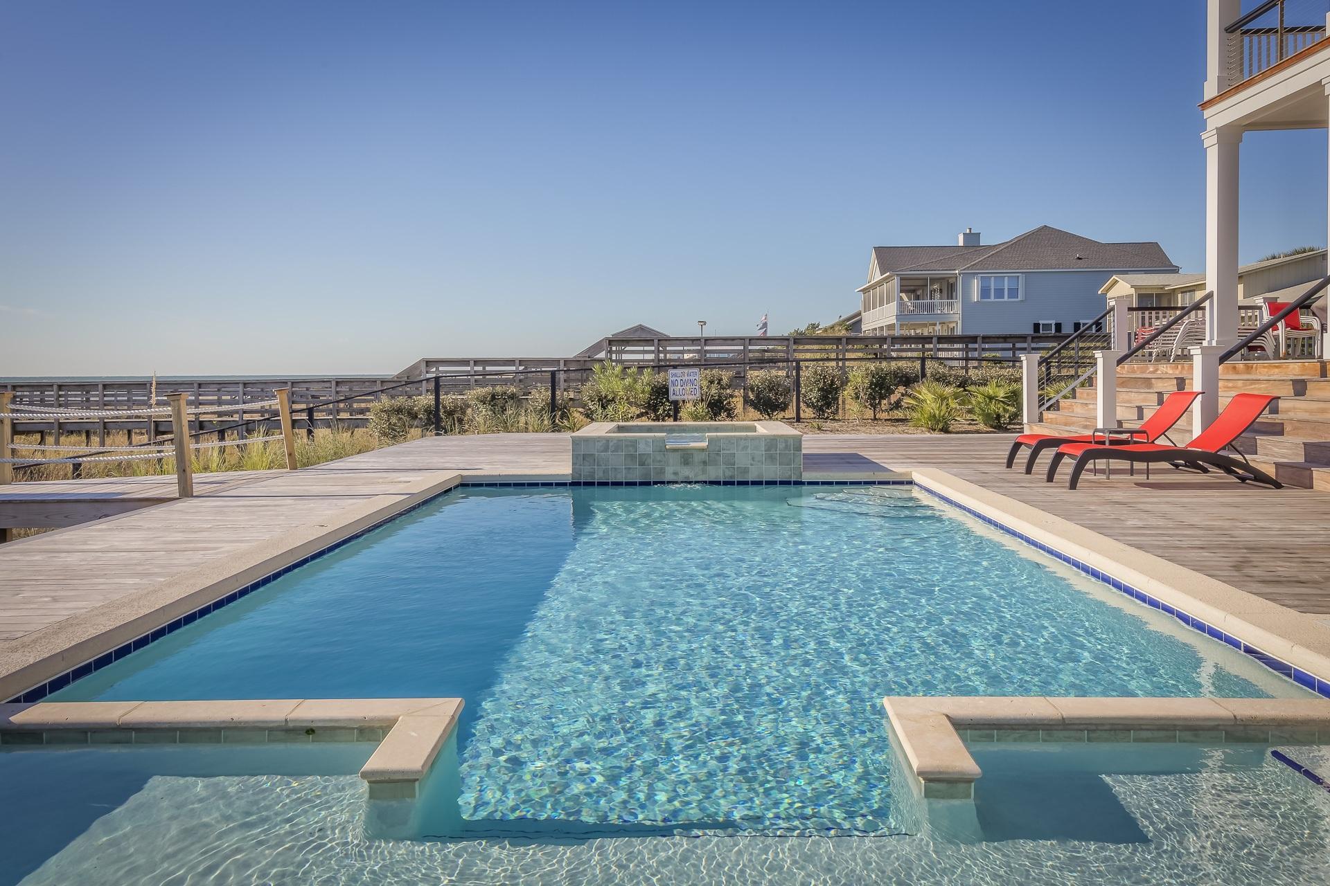 Swimming Pool Under Blue Sky