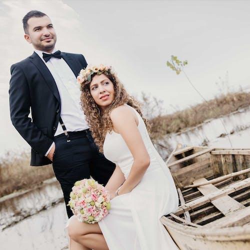 Безкоштовне стокове фото на тему «весільна сукня»