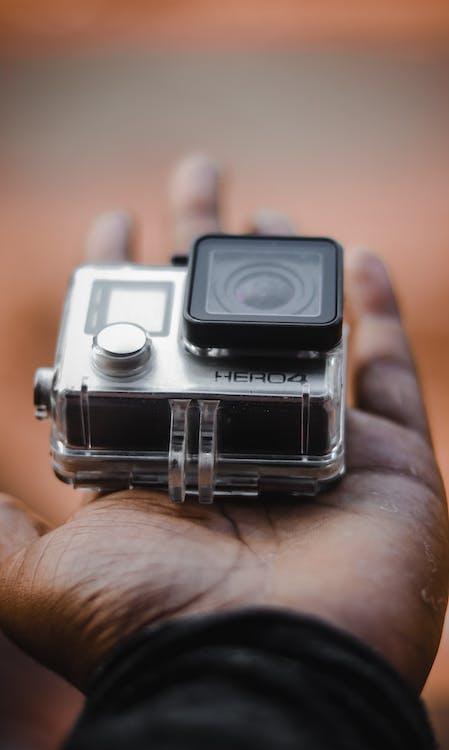 Close-Up Photo Of GoPro Hero4