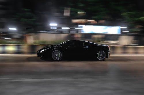 arabalar, çevrinme, deklanşör hızı, Ferrari içeren Ücretsiz stok fotoğraf