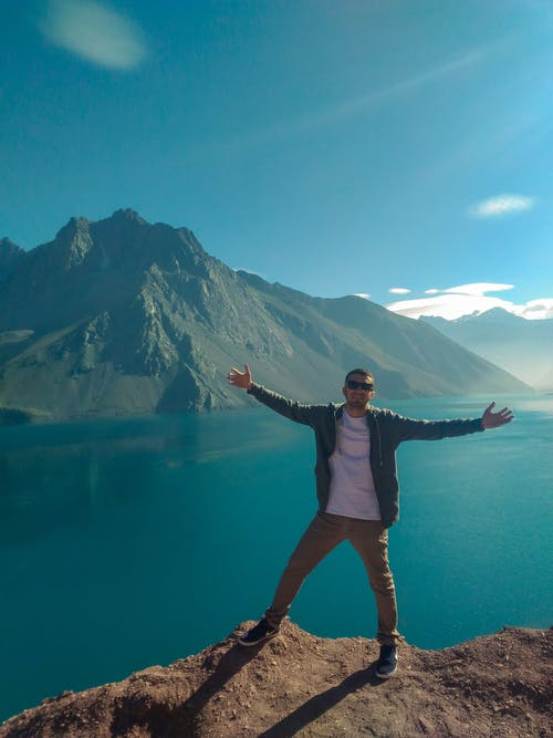 Free stock photo of backpacking, blue, chile, chill