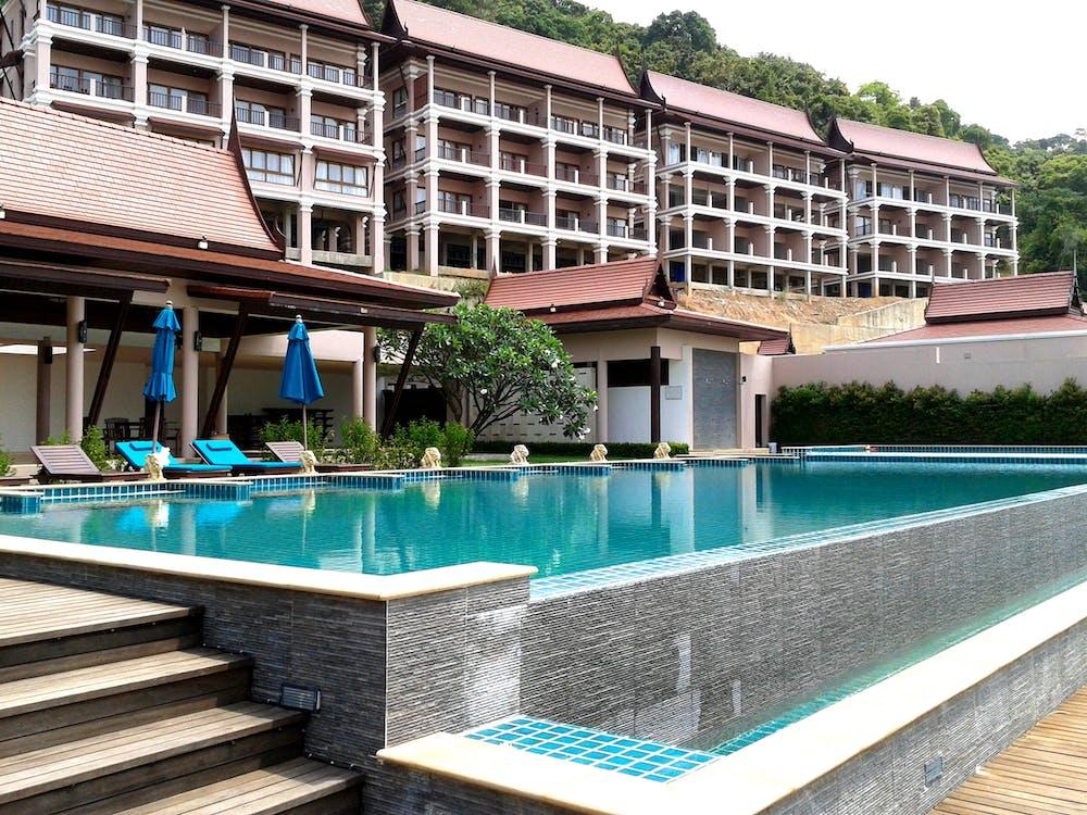 bazén, cestovný ruch, čistiť
