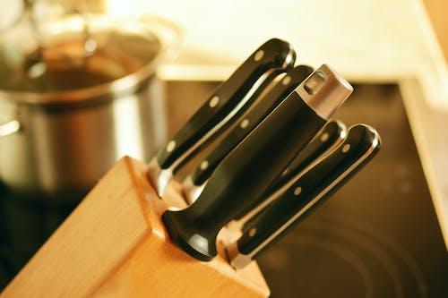Бесплатное стоковое фото с кухня, ножи, ножи для приготовления пищи