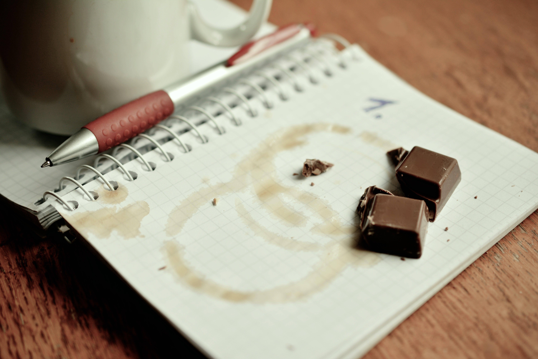 Free stock photo of break, chocolate, coffee cup, dates