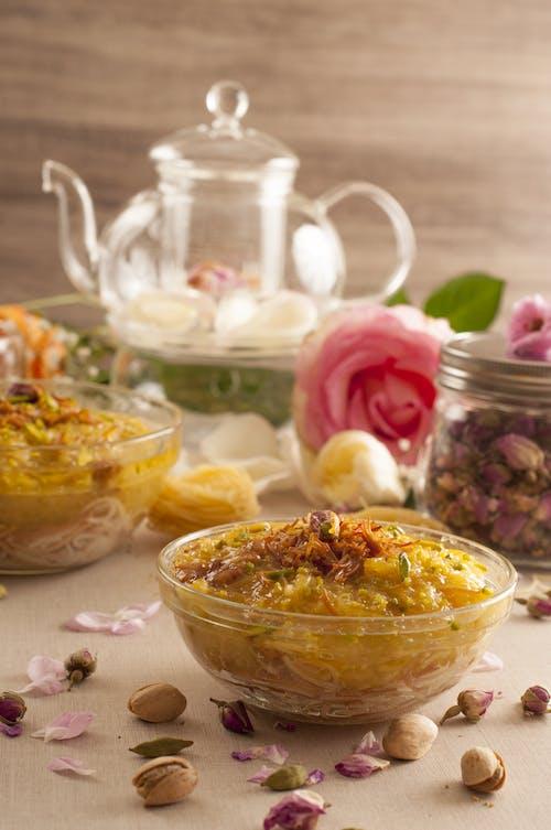 Arab Traditional Food On Table