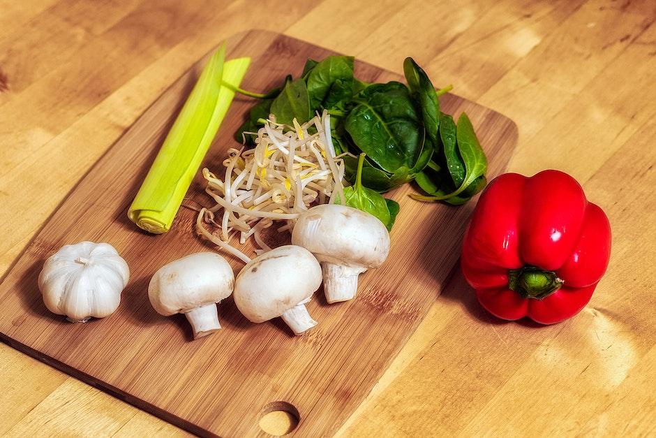 chopping board, food, fresh