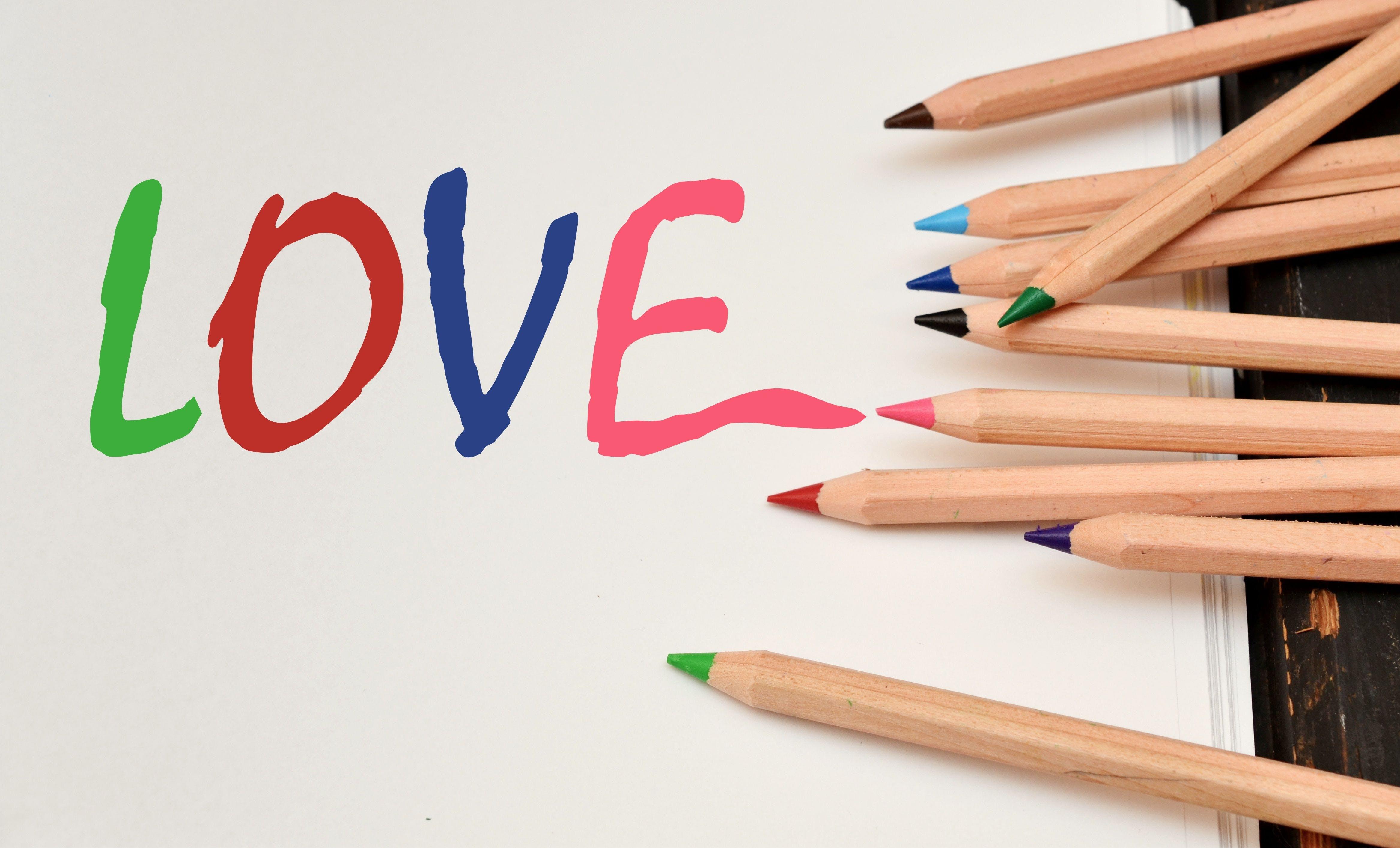 Free stock photo of letter, love, romantic, romanticism