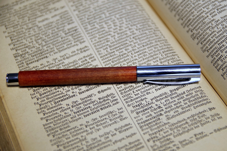 Free stock photo of pen, writing, german, old