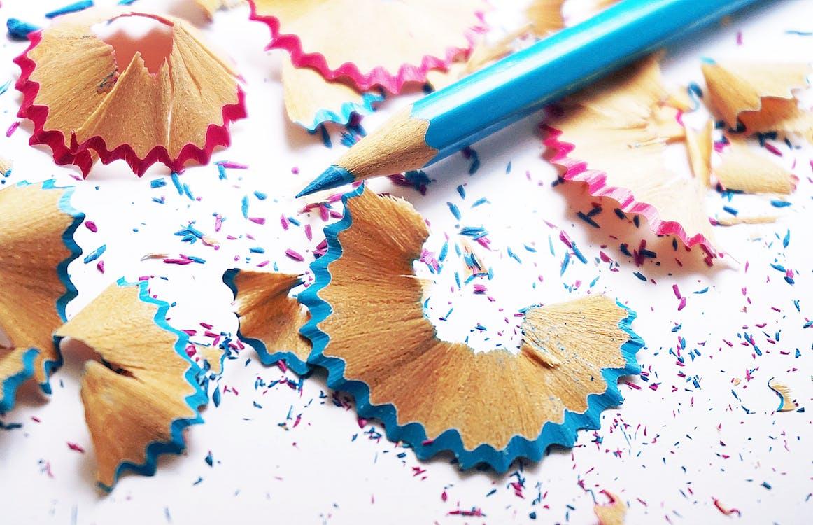 Blue Coloured Pencil