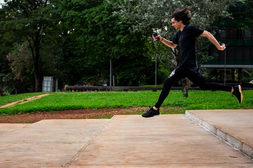 Free stock photo of black, jump, lifestyle, parkour