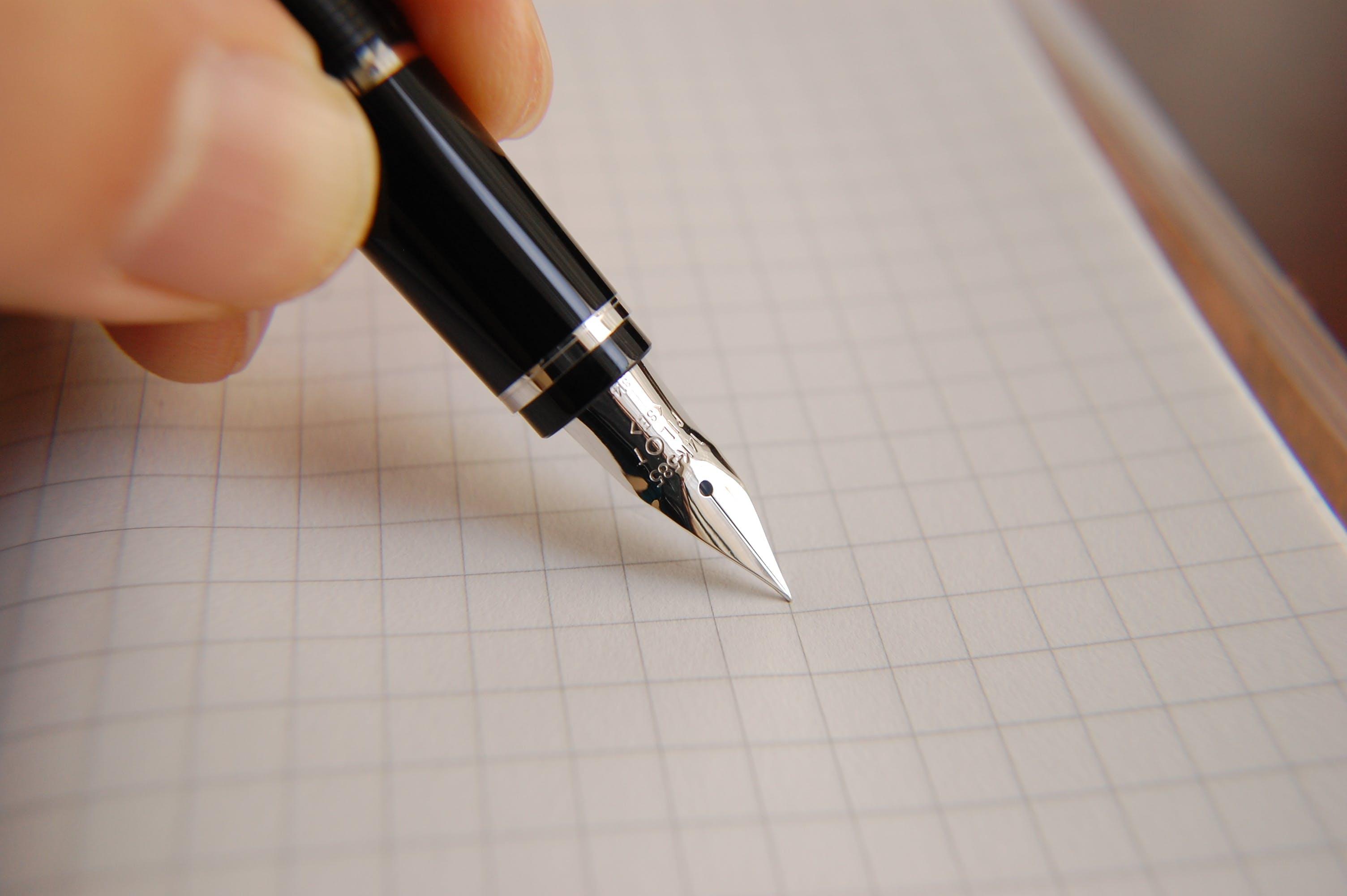 Ảnh lưu trữ miễn phí về bút máy, cận cảnh, cây bút, Chữ ký