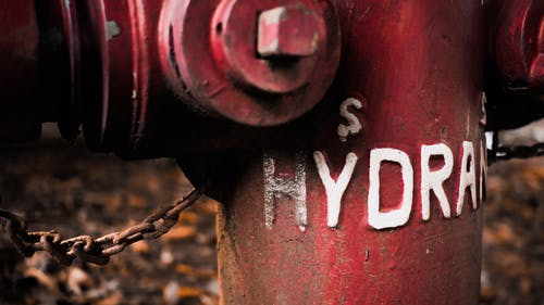 Free stock photo of fire hydrant, red