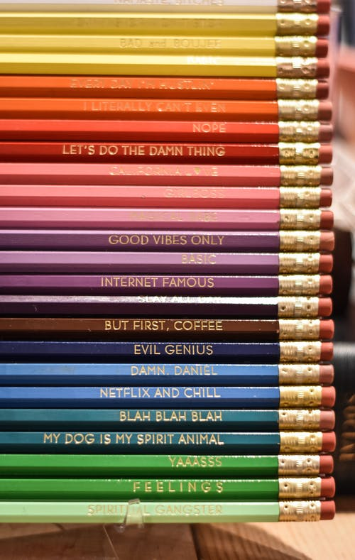 Assorted Coloured Pencil