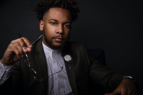 Бесплатное стоковое фото с афро-американец, задумчивый, красивый, модель