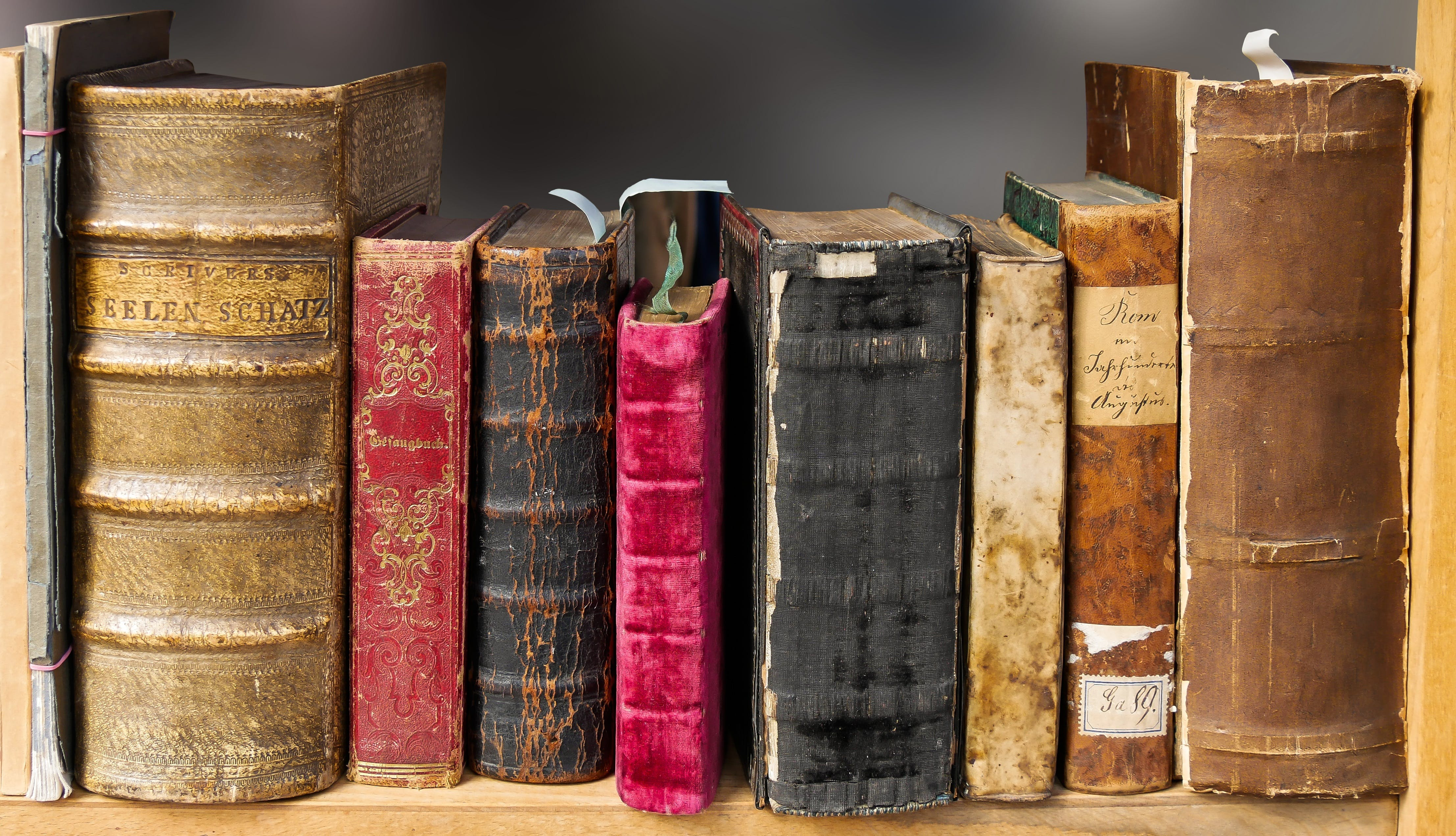 Free stock photo of books, old, book, reading