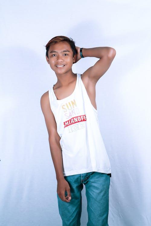 Immagine gratuita di bellissimo, ragazzo asiatico, ritratto