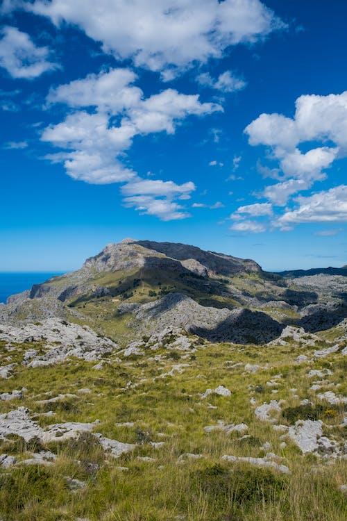 Free stock photo of balearic, beatiful landscape, cloudscape, hill
