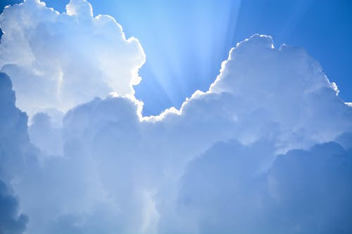 Free stock photo of blue, clouds, light, sky