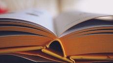 school, research, book