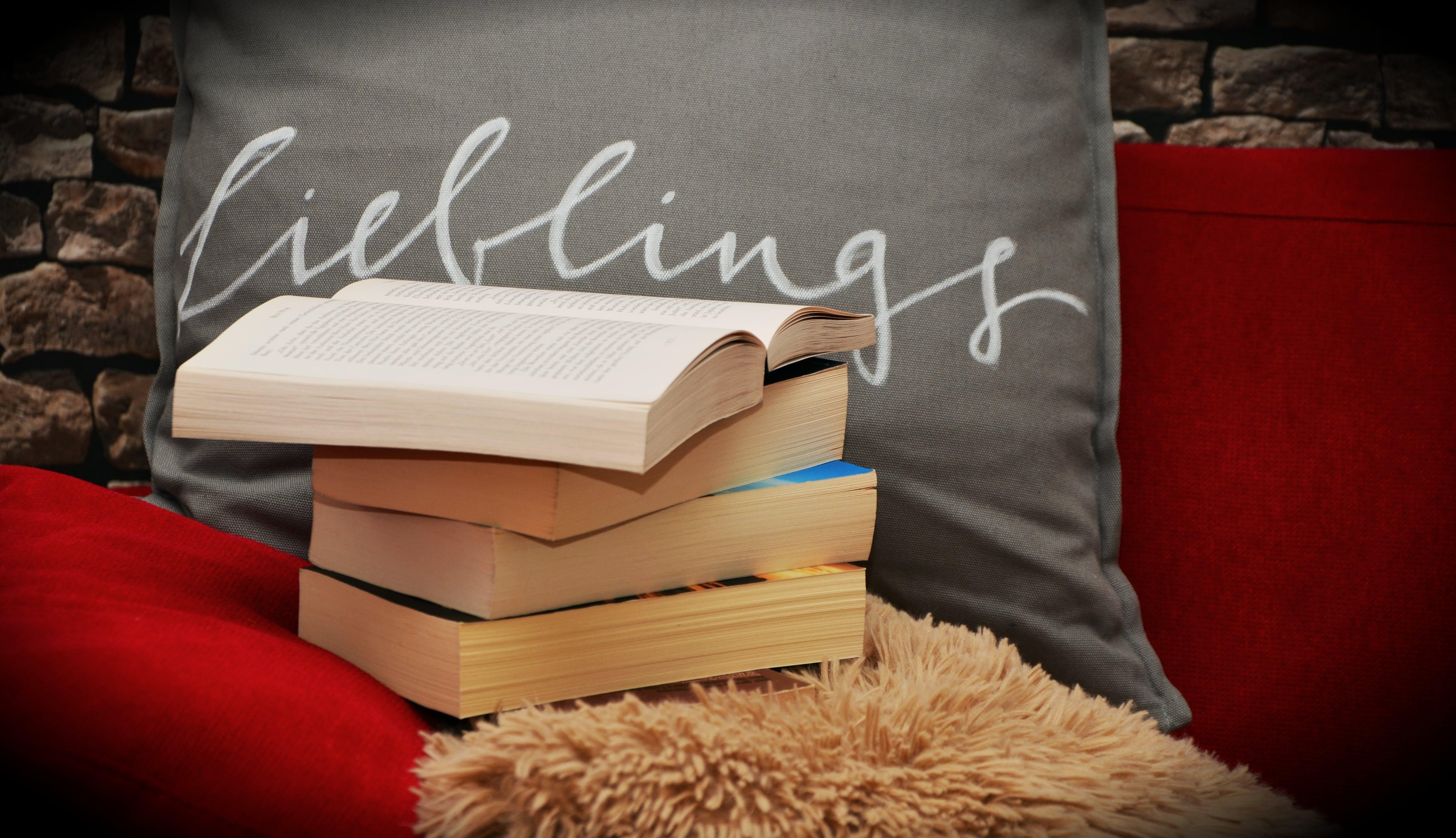 books, college, comfort
