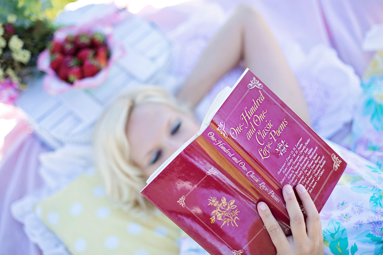 attractive, blur, book