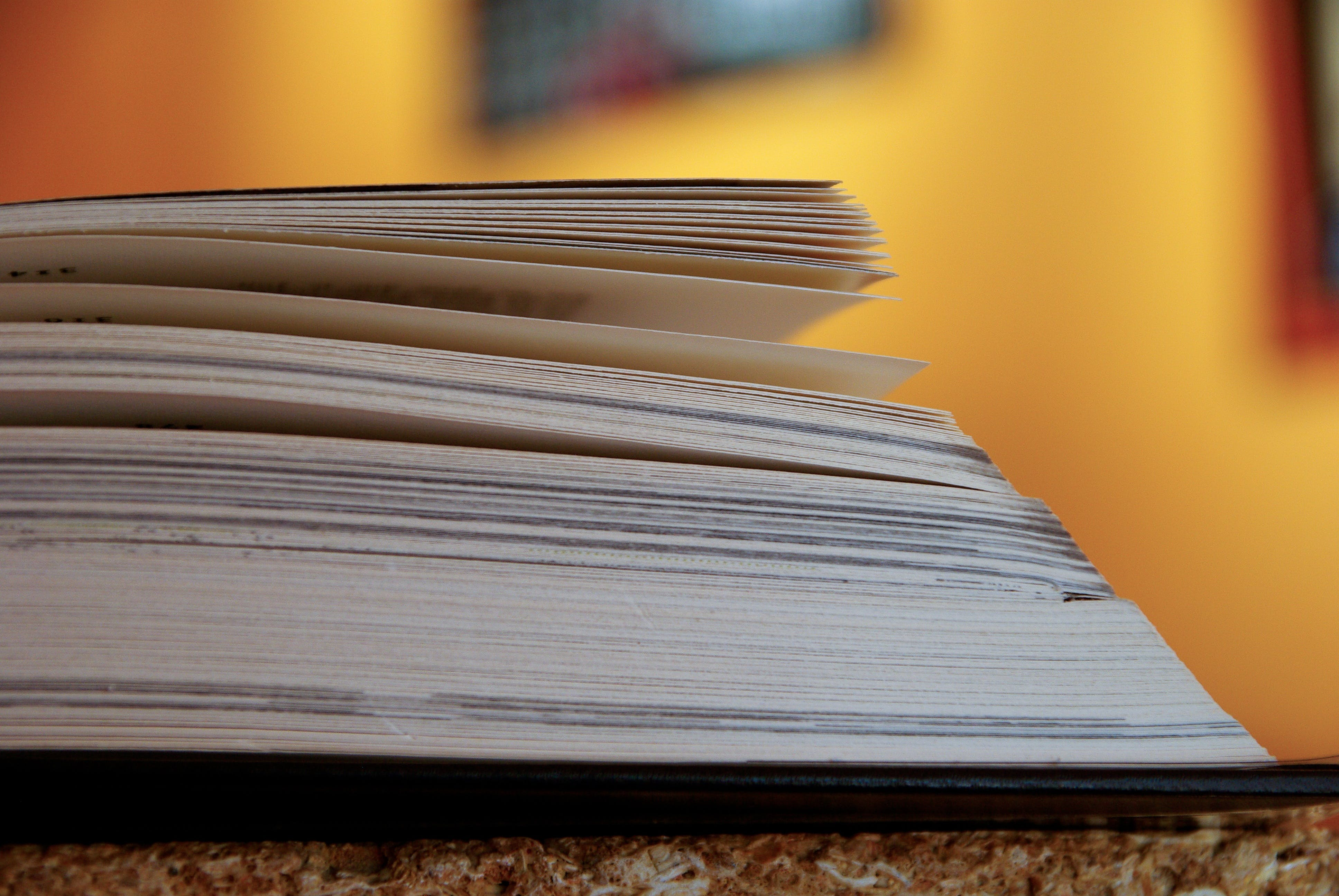 Closeup Photography of Book Pages