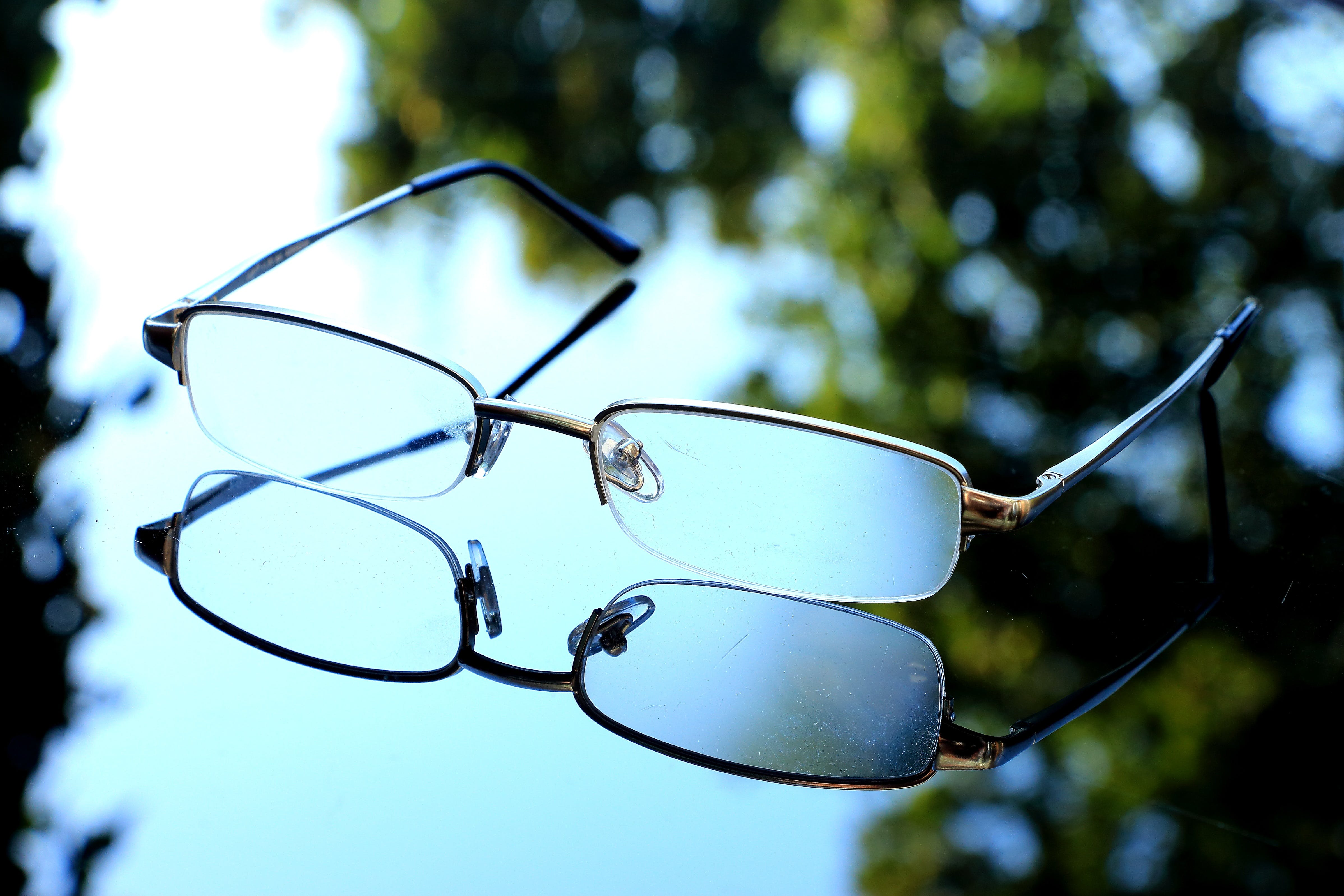 Macro Photography of Eyeglasses