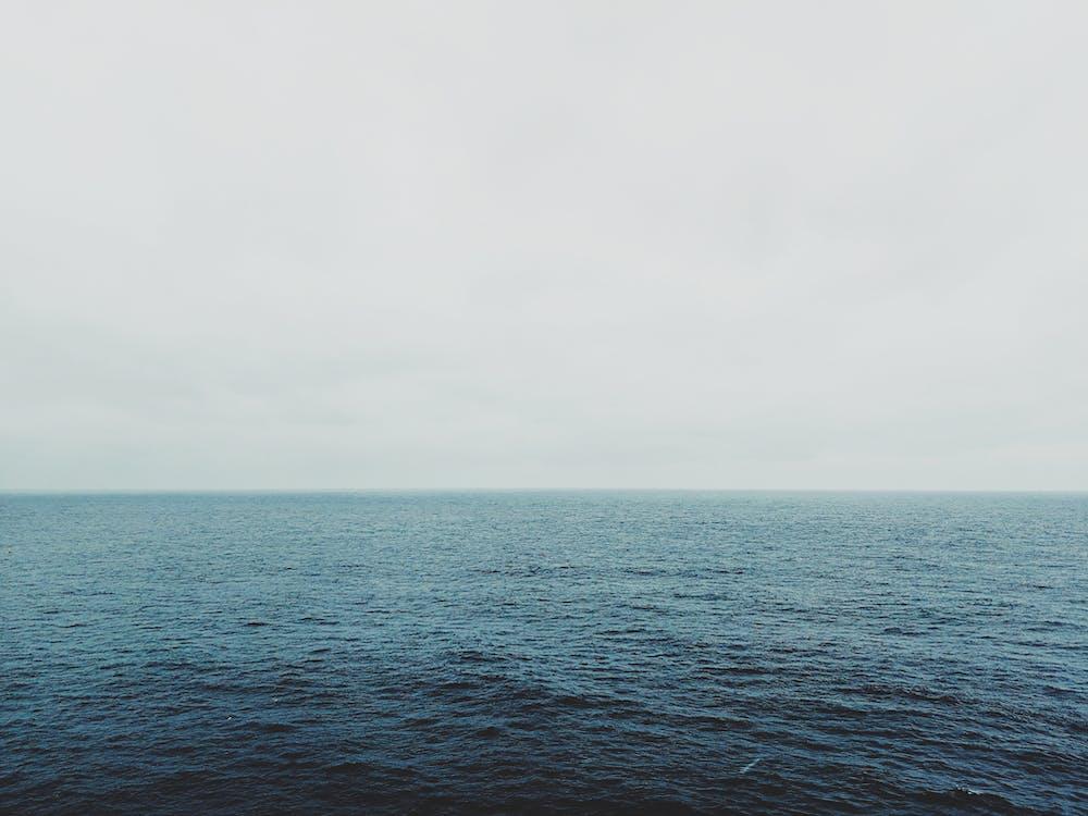 horizont, köd, ködös