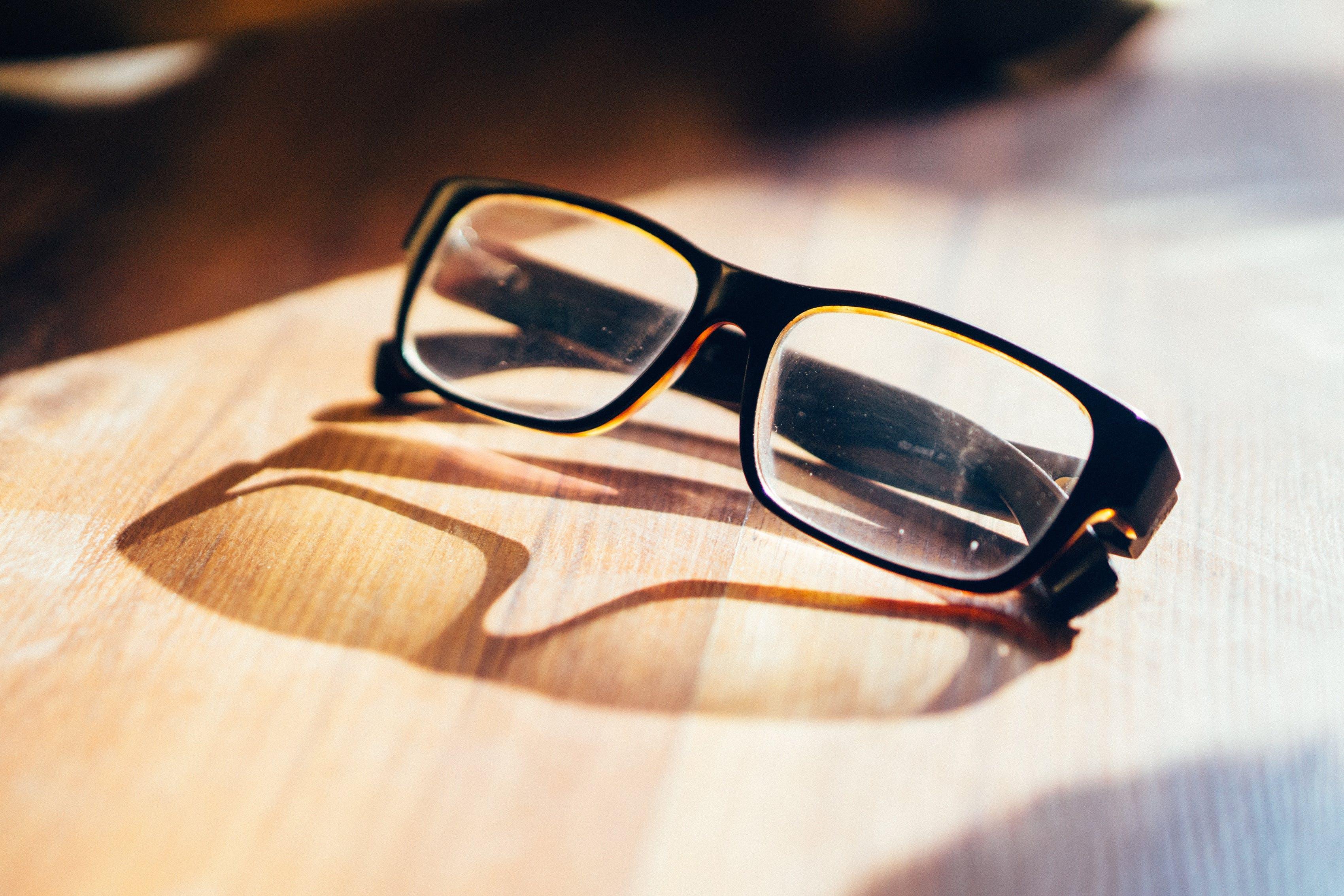 Eyeglasses With Black Frame